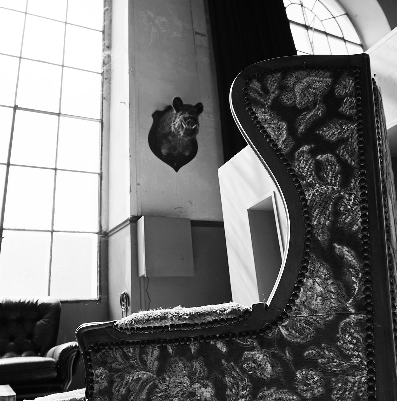 Belle Usine Chaise Fenêtre